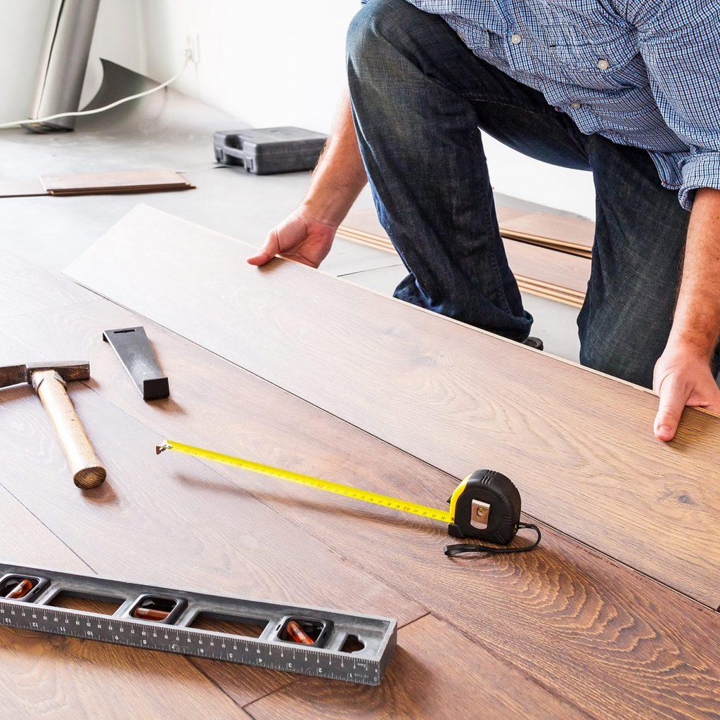 Installing laminate floor in rental